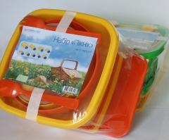 Набор посуды для пикника на 6 персон