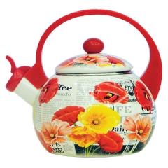 Чайник эмалированный, объем 2,5 л