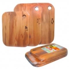 Набор деревянных досок 3 шт