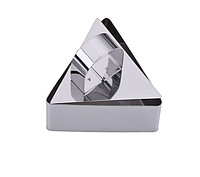 Треугольная форма для гарниров и мусса с прессом
