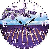 """Часы стеклянные """"Прованс"""""""