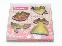 """Набор форм для вырезания печенья """"Girl"""" Fissman"""