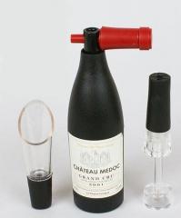 Набор сомелье Wine Story (штопор, пробка и лейка)