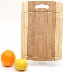 Доска разделочная бамбуковая,  33 x 23 x 1.3 см