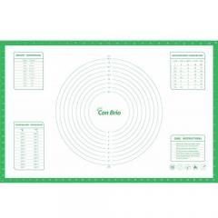 Силиконовый коврик 43,5 х 66,5 см с разметкой Con Brio