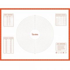 Силиконовый коврик 60 х 80 см с разметкой Con Brio