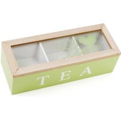 Коробка для хранения сладостей или чая 24 х 9 х 7 см