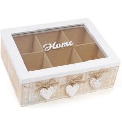 Коробка для хранения сладостей или чая 24 х 18 см