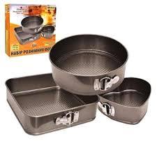 Набор форм для выпечки разной формы, 3 шт.