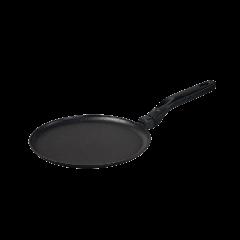 Сковорода блинная черная с антипригарным покрытием Talko, 24 см