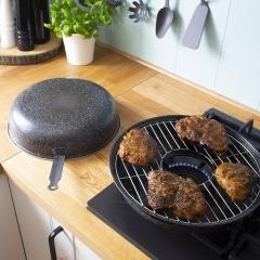 Сковорода для гриля с решеткой Browin 32.5 см