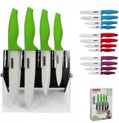 Набор из 4 ножей на подставке