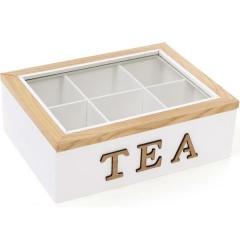 Коробка для хранения сладостей или чая на 6 секции
