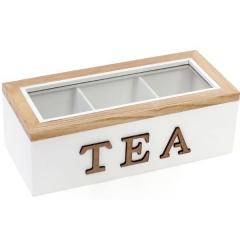 Коробка для хранения сладостей или чая на 3 секции