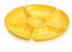 Менажница пластиковая на 6 секции
