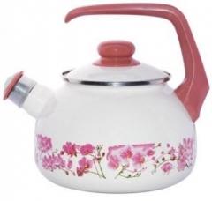 """Чайник эмалированный """"Сакура"""" 2,5 л со свистком"""
