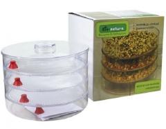 Проращиватель зерна и семян трёхъярусный BIO-NATURA