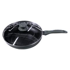 Сковорода с крышкой, Maestro 24 см