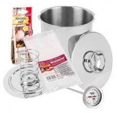 Шинковар Browin з термометром, пакетами і спеціями на 3 кг (313130)