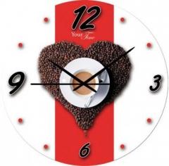 """Часы стеклянные Your Time """"Кофе"""""""