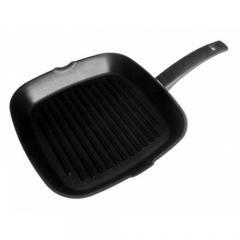 Сковорода-гриль Talko черная с антипригарным покрытием, 26 x 26 см